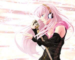 Rating: Safe Score: 28 Tags: aizawa_kotarou cleavage headphones megurine_luka vocaloid User: animeprincess