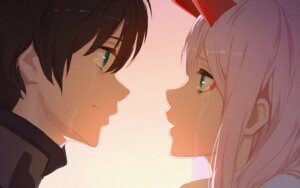 Rating: Safe Score: 25 Tags: ash4i darling_in_the_franxx hiro_(darling_in_the_franxx) horns zero_two_(darling_in_the_franxx) User: dexter88