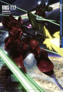 Rating: Safe Score: 10 Tags: gun gundam mecha suzuki_kanta weapon zeta_gundam User: drop