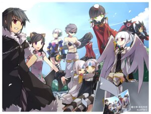 Rating: Safe Score: 6 Tags: animal_ears elsword nekomimi raven_(elsword) swd3e2 wings User: Radioactive