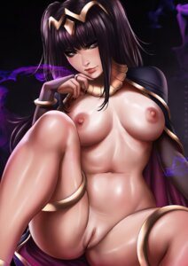 Rating: Explicit Score: 47 Tags: dandon_fuga fire_emblem garter naked_cape nipples pussy tharja uncensored User: BattlequeenYume