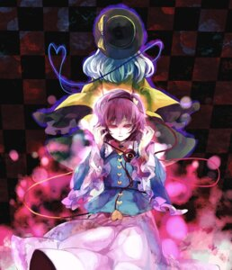 Rating: Safe Score: 7 Tags: komeiji_koishi komeiji_satori oburato touhou User: Radioactive
