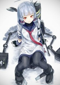 Rating: Safe Score: 62 Tags: kantai_collection murakumo_(kancolle) nathaniel_pennel pantyhose User: KazukiNanako