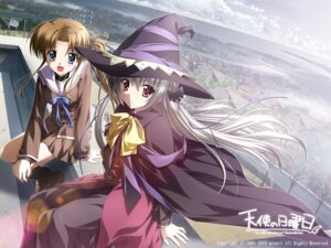 Rating: Safe Score: 22 Tags: ef_~a_fairytale_of_the_two~ hayama_mizuki kamishiro_alice minori nanao_naru seifuku supipara tenshi_no_nichiyoubi wallpaper witch User: fireattack