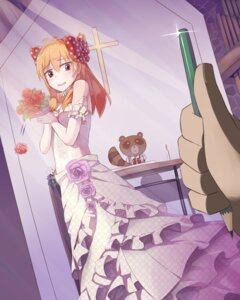 Rating: Safe Score: 34 Tags: dress gekkan_shoujo_nozaki-kun sakura_chiyo seneto wedding_dress User: charunetra