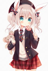 Rating: Safe Score: 59 Tags: animal_ears bunny_ears hoshi seifuku User: nphuongsun93