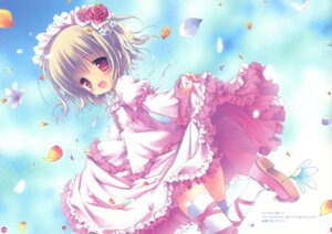 Rating: Safe Score: 44 Tags: crease dress fixme frill_frill lolita_fashion morinaga_korune thighhighs User: petopeto