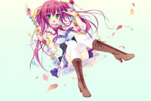 Rating: Safe Score: 71 Tags: dress heels matsumiya_kiseri thighhighs User: 桃花庵の桃花