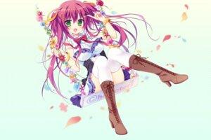 Rating: Safe Score: 73 Tags: dress heels matsumiya_kiseri thighhighs User: 桃花庵の桃花