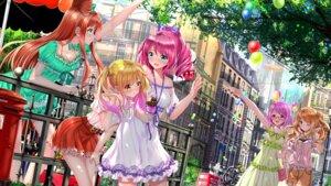 Rating: Safe Score: 45 Tags: aikatsu! aikatsu_stars! dress kasumi_mahiru megane nanakura_koharu nijino_yume sakuraba_rola saotome_ako swordsouls User: Mr_GT
