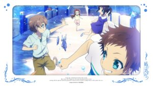 Rating: Safe Score: 9 Tags: dress hiradaira_chisaki isaki_kaname mukaido_manaka nagi_no_asukara sakishima_hikari User: alice4