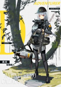 Rating: Questionable Score: 11 Tags: gun hamachi_hazuki pantyhose User: Dreista