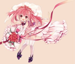 Rating: Questionable Score: 42 Tags: amazawa_koma dress pantsu shota thighhighs trap wedding_dress User: DarkOuranos