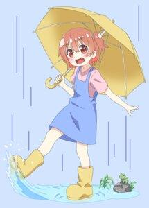 Rating: Safe Score: 16 Tags: dress hoshino_hinata tagme umbrella watashi_ni_tenshi_ga_maiorita! wet User: saemonnokami