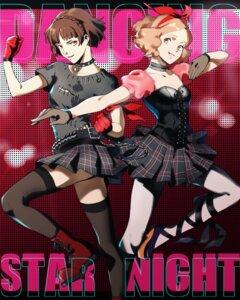 Rating: Safe Score: 8 Tags: cleavage heels niijima_makoto okumura_haru persona_5 tagme thighhighs User: saemonnokami