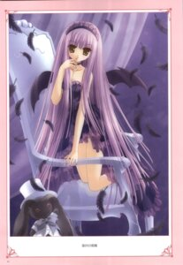 Rating: Safe Score: 14 Tags: gothic_lolita lingerie lolita_fashion see_through tinkle wings User: noirblack