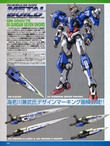 Rating: Safe Score: 6 Tags: 00_gundam character_design gundam gundam_00 mecha sword User: harimahario