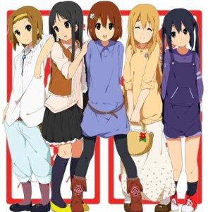 Rating: Safe Score: 32 Tags: akiyama_mio hirasawa_yui k-on! kotobuki_tsumugi nakano_azusa ogipote overalls pantyhose tainaka_ritsu User: Nekotsúh