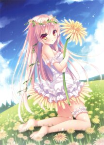 Rating: Safe Score: 75 Tags: dress feet garter rokudou_itsuki User: Twinsenzw