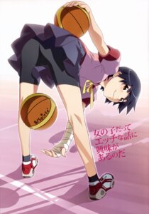 Rating: Safe Score: 27 Tags: bakemonogatari bike_shorts kanbaru_suruga seifuku watanabe_akio User: Kalafina