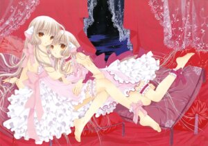 Rating: Safe Score: 30 Tags: chii chobits clamp freya garter lolita_fashion User: MosquitoJack
