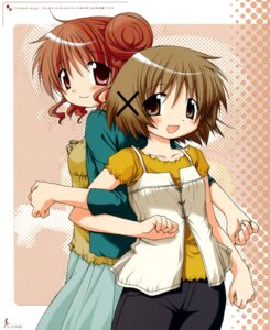 Rating: Safe Score: 8 Tags: aoki_ume hidamari_sketch hiro yuno User: Radioactive