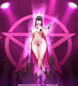 Rating: Explicit Score: 4 Tags: areola devil horns naked nofuture pasties pointy_ears pubic_hair User: dick_dickinson