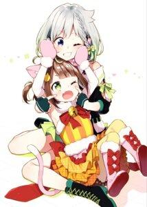 Rating: Safe Score: 18 Tags: animal_ears crossover heels mei_channel nekomimi osanai_mei pantyhose sakuragi_ren tail yuni_(yuni_channel) yuni_channel User: Mr_GT