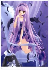 Rating: Safe Score: 20 Tags: gothic_lolita lingerie lolita_fashion see_through tinkle wings User: fireattack