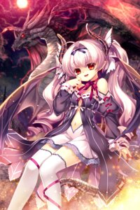 Rating: Safe Score: 28 Tags: capura.l horns monster thighhighs User: blooregardo