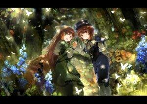 Rating: Safe Score: 16 Tags: asuka_(moto) heterochromia rozen_maiden souseiseki suiseiseki User: tbchyu001