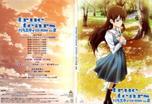 Rating: Safe Score: 8 Tags: disc_cover seifuku sekiguchi_kanami true_tears yuasa_hiromi User: Popisan