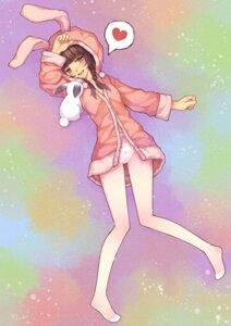 Rating: Questionable Score: 41 Tags: feet pajama pantsu pantyhose tsubasa_tsubasa User: blooregardo