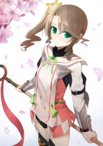 Rating: Safe Score: 35 Tags: akitaka alisha pantsu stockings tales_of tales_of_zestiria thighhighs weapon User: charunetra