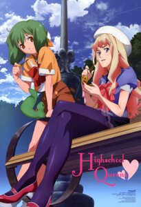 Rating: Safe Score: 15 Tags: macross macross_frontier pantyhose ranka_lee sheryl_nome tsukahara_hajime User: Velen