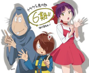 Rating: Safe Score: 5 Tags: dress gegege_no_kitaro kitarou neko_musume robe User: saemonnokami