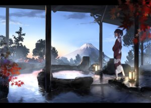 Rating: Safe Score: 43 Tags: landscape onsen ouchi_kaeru yukata User: Ricetaffy