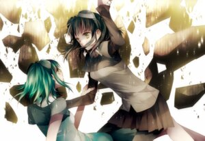 Rating: Safe Score: 15 Tags: gumi mosaic_roll_(vocaloid) tsukioka_tsukiho vocaloid User: charunetra