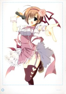 Rating: Safe Score: 25 Tags: garter_belt inugami_kira seitokai_no_ichizon stockings thighhighs uchuu_meguru User: WtfCakes