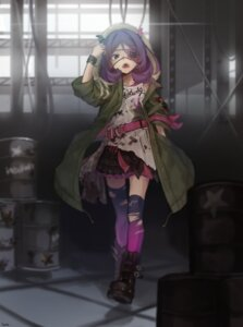 Rating: Safe Score: 30 Tags: eyepatch hayasaka_mirei horns the_idolm@ster the_idolm@ster_cinderella_girls thighhighs torn_clothes yul_(user_gyut3424) User: Mr_GT