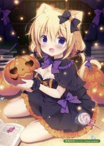 Rating: Safe Score: 84 Tags: animal_ears canvas+garden cleavage dress halloween miyasaka_miyu nekomimi tagme tail User: Hatsukoi