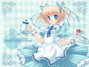 Rating: Safe Score: 21 Tags: lolita_fashion maid takano_yuki waitress wallpaper User: yumichi-sama