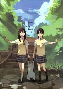 Rating: Safe Score: 10 Tags: amano_tsubasa_(tenshi_no_kakera) crease nanatsuka_sana neko seifuku takamichi tenshi_no_kakera User: Radioactive