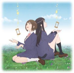 Rating: Safe Score: 14 Tags: disc_cover fragtime moritani_misuzu murakami_haruka seifuku skirt_lift sweater tagme User: saemonnokami