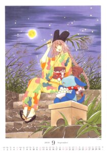 Rating: Safe Score: 10 Tags: calendar clamp hanato_kobato ioryogi kobato yukata User: Share