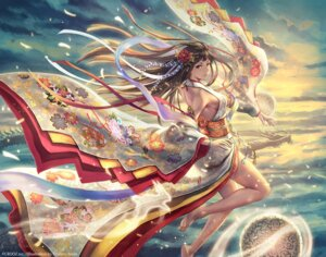 Rating: Safe Score: 58 Tags: anbe_yoshirou deity_wars kimono no_bra watermark User: Mr_GT