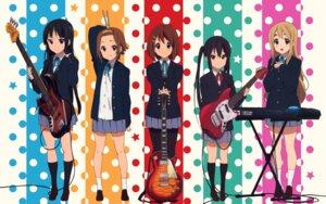 Rating: Safe Score: 35 Tags: akiyama_mio guitar hirasawa_yui k-on! kotobuki_tsumugi nakano_azusa pantyhose seifuku tainaka_ritsu wallpaper User: videokilled