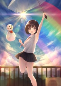 Rating: Safe Score: 19 Tags: seifuku skirt_lift tanbonota46 umbrella User: yanis