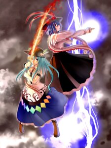 Rating: Safe Score: 6 Tags: hinanawi_tenshi nagae_iku orga touhou User: konstargirl