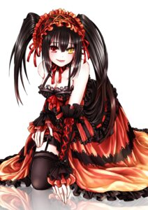 Rating: Questionable Score: 46 Tags: cleavage date_a_live date_a_live_ii dress gothic_lolita heterochromia lolita_fashion stockings tagme thighhighs tokisaki_kurumi User: kiyoe
